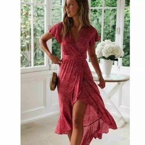 New!🌟Boho Long Maxi Dress or Beach Cover Up